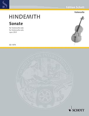 Paul Hindemith - Sonate op. 25 n° 3 - Partition - di-arezzo.fr