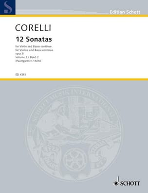 CORELLI - 12 Sonatas op. 5, Volume 2 7 to 12 Paumgartner - Sheet Music - di-arezzo.com