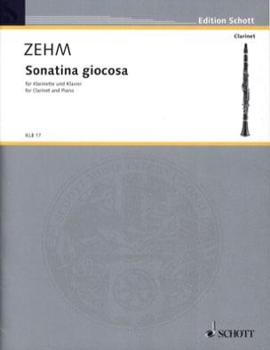 Sonatina Giocosa - Klarinette Klavier - laflutedepan.com