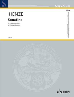 Sonatine –Flöte Klavier - Hans Werner Henze - laflutedepan.com