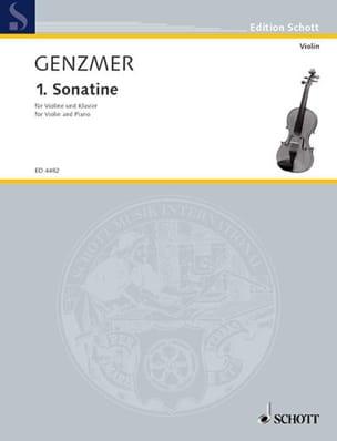 Sonatine (1953) – Violon piano - Harald Genzmer - laflutedepan.com