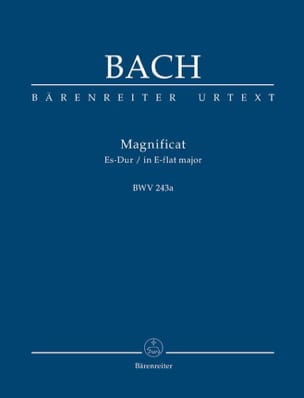 BACH - Magnificat Es-Dur BWV 243a - Partitur - Sheet Music - di-arezzo.co.uk