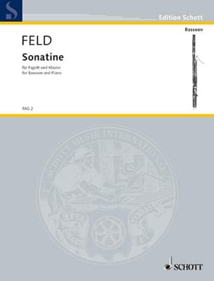 Jindrich Feld - Sonatine - Fagott Klavier - Sheet Music - di-arezzo.com