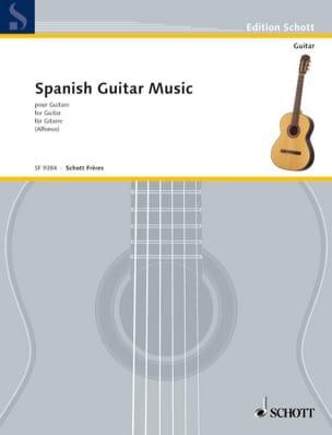 Spanish Guitar Music - Nicolas Alfonso - Partition - laflutedepan.com