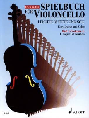 Erich Doflein - Spielbuch for Violoncello, Bd 1 - Sheet Music - di-arezzo.co.uk
