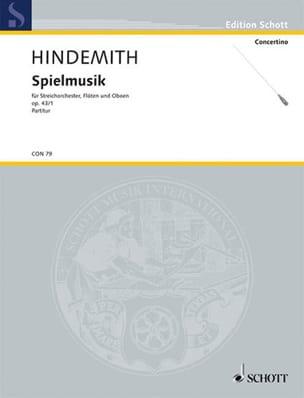 Spielmusik, op. 43 n° 1 – Partitur - Paul Hindemith - laflutedepan.com