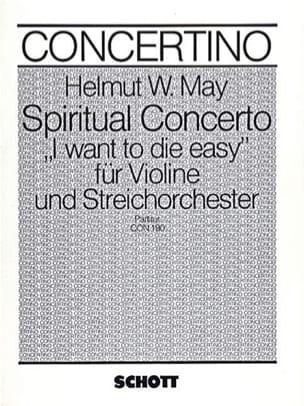 Spiritual Concerto (1979) - Helmut W. May - laflutedepan.com