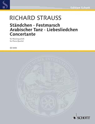 Ständchen - Festmarsch - Arabischer Tanz - Liebesliedchen - Concertante -Stimmen - laflutedepan.com