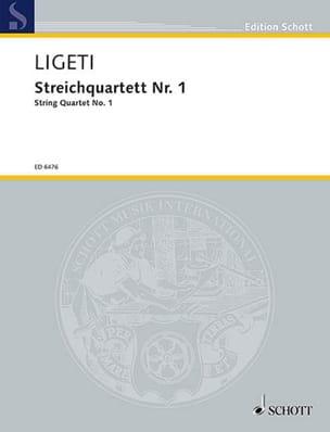 György Ligeti - Streichquartett Nr. 1 (1953/54) – Stimmen + Partitur - Partition - di-arezzo.fr