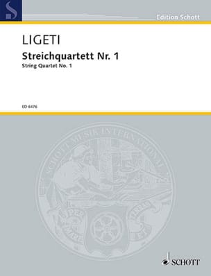 Streichquartett Nr. 1 (1953/54) - Stimmen + Partitur - laflutedepan.com