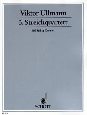 Viktor Ullmann - Streichquartett Nr. 3 Op. 46 - Sheet Music - di-arezzo.co.uk