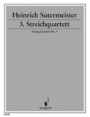 Streichquartett Nr. 3 –Stimmen - laflutedepan.com