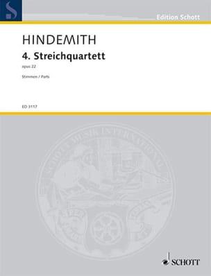 Streichquartett Nr. 4 op. 22 –Stimmen - laflutedepan.com