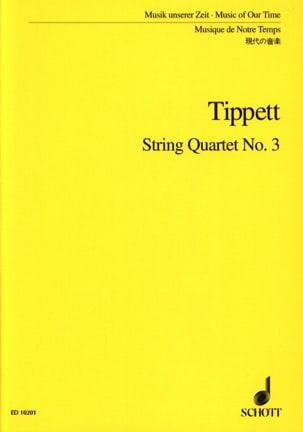 String quartet n° 3 – Score - Michael Tippett - laflutedepan.com