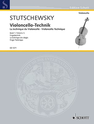 Joachim Stutschewsky - Violoncello-Technik - Volume 1 - Sheet Music - di-arezzo.co.uk