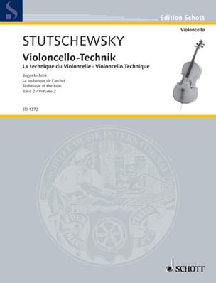 Joachim Stutschewsky - Violoncello-Technik - Volume 2 - Sheet Music - di-arezzo.co.uk