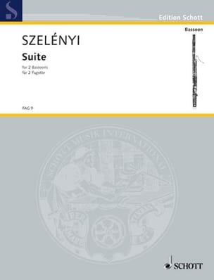 Suite -2 Fagotte Istvan Szelényi Partition Basson - laflutedepan