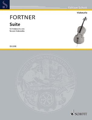 Suite (1932) - Wolfgang Fortner - Partition - laflutedepan.com