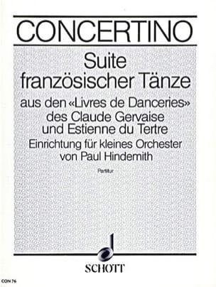Suite Französischer Tänze - Partitur - laflutedepan.com