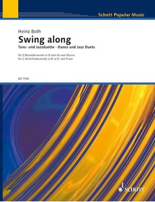 Swing Along - 2 Clarinettes et Piano Heinz Both Partition laflutedepan