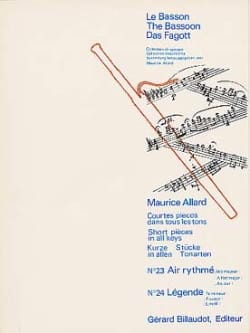 Maurice Allard - Short Pieces In All Tones # 23-24 - Sheet Music - di-arezzo.com