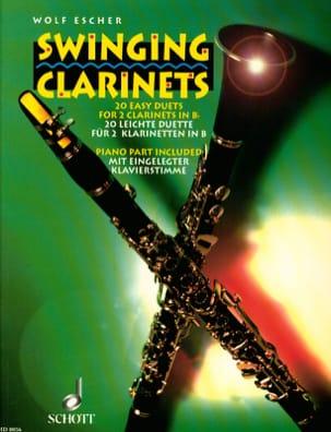 Swinging Clarinets - 2 Clarinettes - Wolf Escher - laflutedepan.com