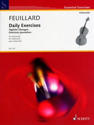 FEUILLARD - Daily exercises - Sheet Music - di-arezzo.co.uk