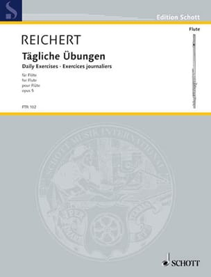 Mathieu André Reichert - Tägliche Übungen op. 5 - Flöte - Partition - di-arezzo.co.uk