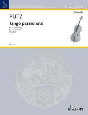 Eduard Pütz - Tango Passionato - 4 Violoncelli - Partition - di-arezzo.fr