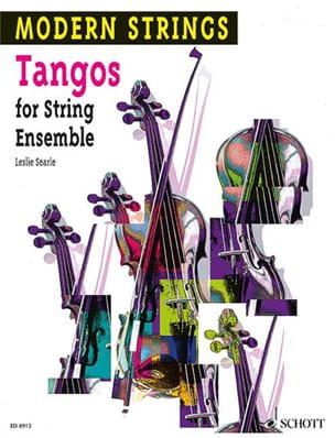 Tangos for String Ensemble Leslie Searle Partition laflutedepan