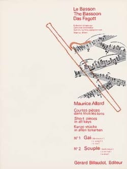 Maurice Allard - Short pieces in all shades No. 1-2 - Sheet Music - di-arezzo.com
