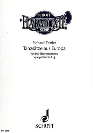 Tanzsätze aus Europa (in Es) – Partitur - laflutedepan.com