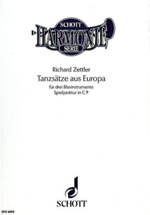 Tanzsätze aus Europa in C - Partitur - laflutedepan.com
