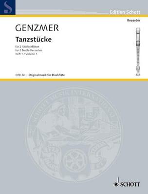 Tanzstücke - Heft 1 -2 Altblockflöten - laflutedepan.com