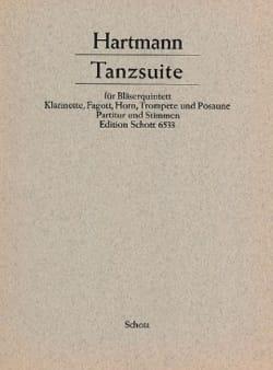 Karl Amadeus Hartmann - Tanzsuite -Bläserquintett - Partitur + Stimmen - Partition - di-arezzo.fr