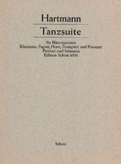 Tanzsuite –Bläserquintett - Partitur + Stimmen - laflutedepan.com
