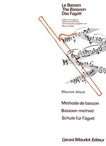 Maurice Allard - Bassoon method - Sheet Music - di-arezzo.com