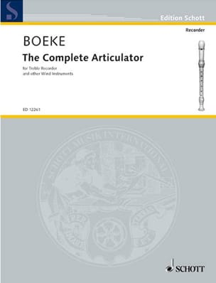 Kees Boeke - The complete articulator - Partition - di-arezzo.fr