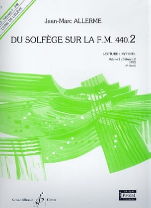 Jean-Marc Allerme - of the Solfège on the FM 440.2 - Play Rhythm - Sheet Music - di-arezzo.com