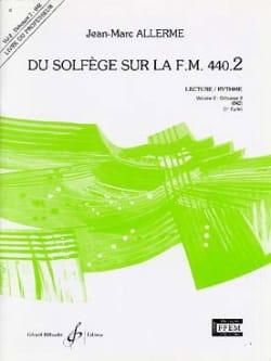 Jean-Marc Allerme - of the Solfeggio on the FM 440.2 - Reading Rhythm - PROFESSOR - Sheet Music - di-arezzo.co.uk