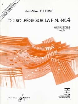 Jean-Marc Allerme - on the FM 440.4 - Play Rhythm - PROFESSOR - Sheet Music - di-arezzo.co.uk