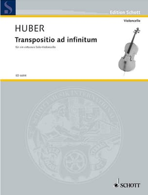 Transpositio ad infinitum Klaus Huber Partition laflutedepan