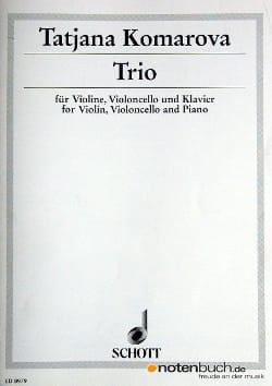 Trio –Violine Cello Klavier - Tatjana Komarova - laflutedepan.com