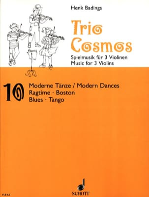 Henk Badings - Trio-Cosmos n ° 10 - Partitura - di-arezzo.es
