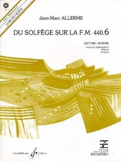 Jean-Marc Allerme - of the Solfège on the FM 440.6 - Play Rhythm with CD - Sheet Music - di-arezzo.co.uk