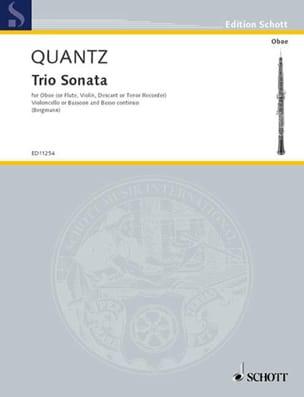 Triosonate G-Dur Oboe Violoncello Bc - laflutedepan.com