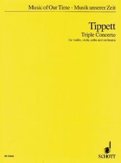 Triple Concerto – Partitur - Michael Tippett - laflutedepan.com