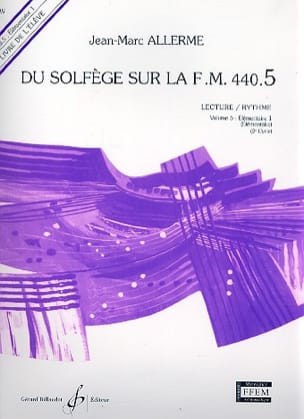 Jean-Marc Allerme - of the Solfeggio on the FM 440.5 - Play Rhythm - Sheet Music - di-arezzo.com