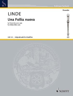 Hans-Martin Linde - Una Follia nuova – Altblockflöte solo - Partition - di-arezzo.fr