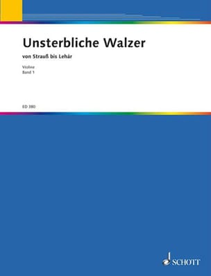 Valse Recueil - Unsterbliche Walzer - Bd 1 Solo Violin - Sheet Music - di-arezzo.co.uk